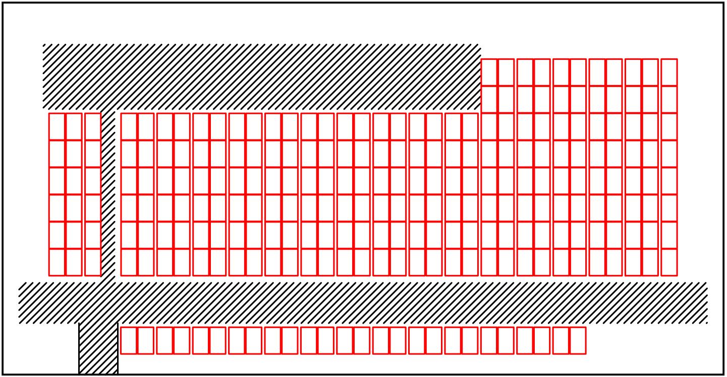 Planungsentwurf - Doppelturnhalle, Schulhaus Ebnet